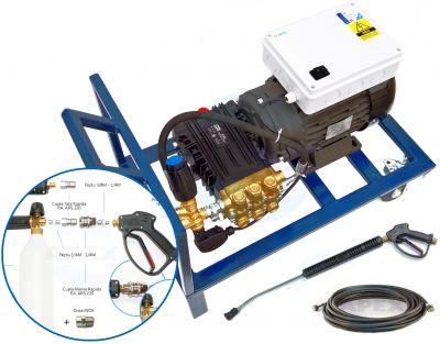 Grup SPALARE-SPUMARE complet echipata UDOR BC 15.20 Total Stop si Motor RAVEL cu Cuplaj Elastic incorporat
