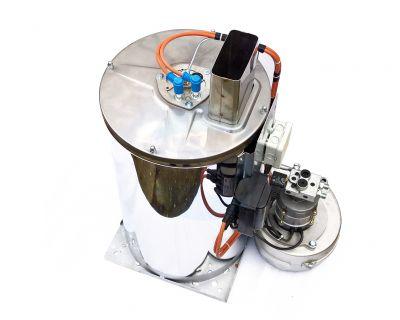 Caldarina (boiler) complet echipata pentru aparat de spalat cu presiune apa calda
