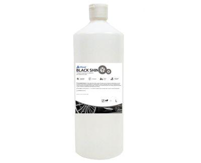Solutie tratare cauciuc si plastic A-Clean Black Shine 1L
