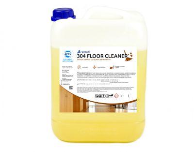 Solutie pentru curatarea si protejarea pardoselilor A-Clean 304 Floor Cleaner 10L