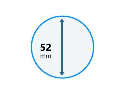Perie aspirator rotunda D50