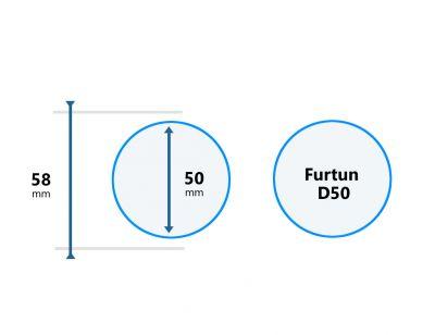 Cupla Furtun Aspirator D50
