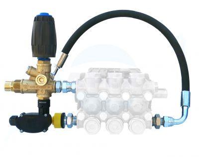 Kit regulator presiune completa cu microintrerupator (pentru Total Stop)