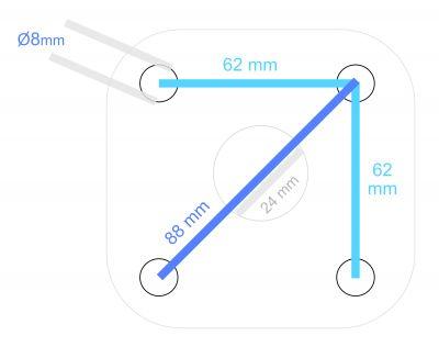 Pompa presiune UDOR BKC 20/25 S, 250 bar, 20 l/min