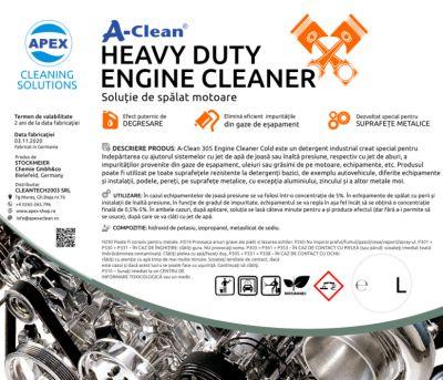 Solutie de spalat motoare A-Clean Heavy Duty Engine Cleaner