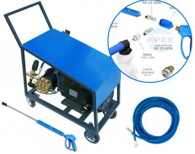 Grup Pompare spalare-spumare complet echipata UDOR BKC 20/25 cu Total Stop - 250 bari, 20L/min