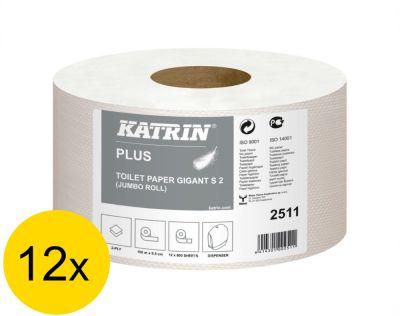 Hartie igienica Katrin Plus Gigant - 12 buc
