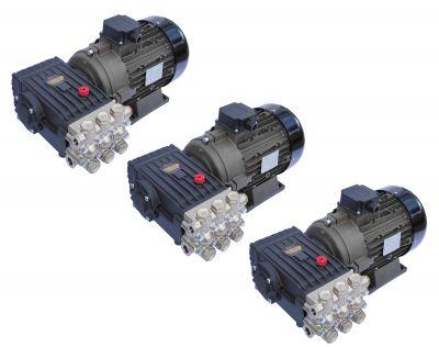 Pompa inalta presiune INTERPUMP WS201, motor 5.5KW cuplaj elastic, 3buc