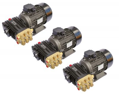 Pompa presiune spalare UDOR 200 bar - BC 15/20, motor 5.5KW, 3buc