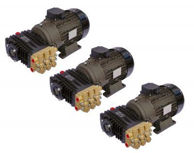Pompa presiune spalare UDOR 200 bar - BC 15/20, motor 5.5KW cuplaj elastic, 3buc