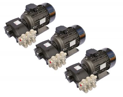 Pompa spalatorie Car Wash Hawk INOX NMT 1520CWR, motor 5.5KW, 3buc