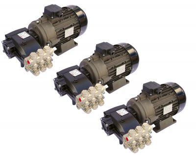 Pompa spalatorie Car Wash Hawk INOX NMT 1520CWR, motor 5.5KW  cuplaj elastic, 3buc