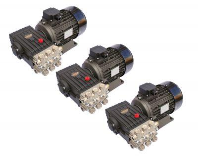 Pompa inalta presiune INTERPUMP WS201, motor 5.5KW, 3buc
