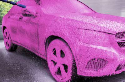 Spuma activa auto GlossTec Pink Revolution 5kg