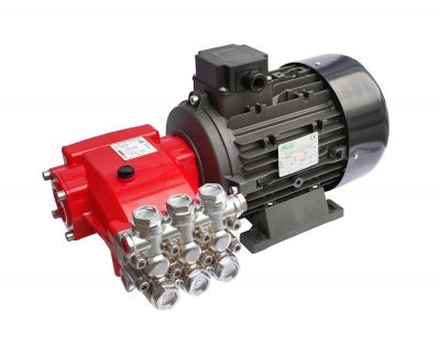 Pompa spalatorie Hawk NMT1520EBCW Ecobrass Heavy Duty CAR WASH Red cu motor 5.5KW