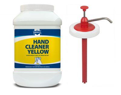 Gel de curatat maini Americol Hand Cleaner Yellow 4,5L